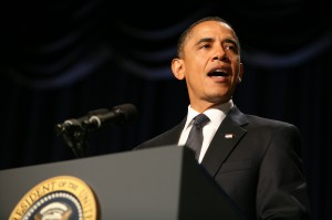 Obama attends the 2011 National Prayer Breakfast in Washington