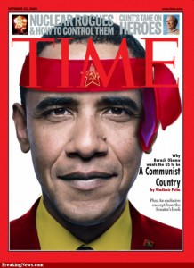 """Communist-Barack-Obama-on-Time-Magazine"""