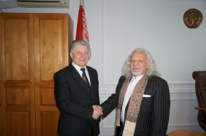 Dr._Morgulis_and_Minister_of_Education_of_Belarus_Dr._A._Maskevich