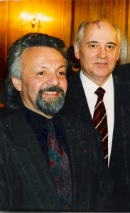 Mikhail Morgulis and Mikhail Gorbachov