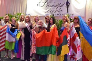 Belarus Consul and Daria fashion show